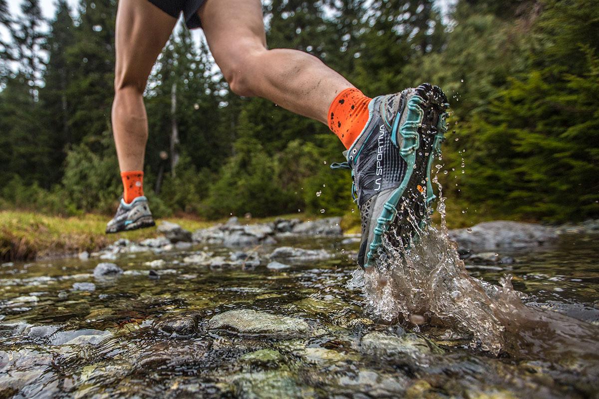 vantaggi comodità scarpa running